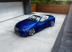 Lexus unveils Regatta edition of its LC Convertible