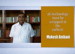 2G technology must be scrapped at the earliest: Mukesh Ambani