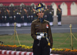 Meet Captain Tania Shergil, the 1st woman Republic Day parade adjutant
