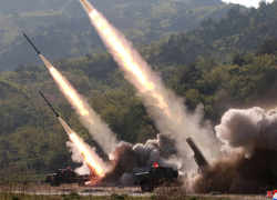 North Korea fires 2 suspected missiles in possible new warning