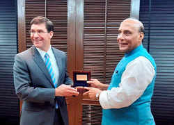 Rajnath meets US Def Secy in Bangkok, holds talks with focus on Indo-Pacific