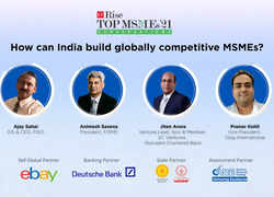 ETRiseTop MSMEs '21 Conversations | How can India build globally competitive MSMEs?