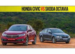 Watch: 2019 Honda Civic Vs Skoda Octavia comparison