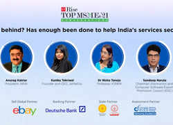 ETRise Top MSMEs '21 Conversations | Has enough been done to help India's services sector?