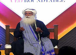 Watch: Sadhguru Jaggi Vasudev at ET CEO Roundtable
