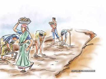 Demand for work: MGNREGA beneficiaries surpass last year's numbers