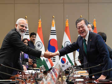 India, South Korea sign 7 pacts; to step-up cooperation in infrastructure, combating global crime