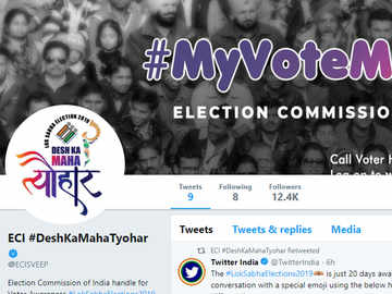 Election Commission joins Twitter ahead of Lok Sabha polls