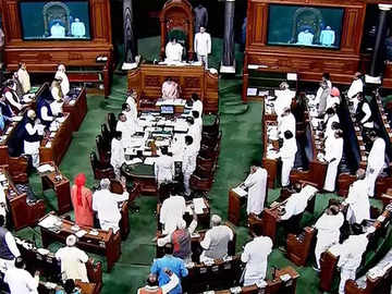 Lok Sabha witnesses disruptions as members protest
