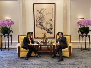 Indian envoy to China Vikram Misri meets top party functionary to discuss LAC tensions