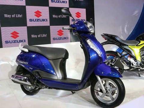 Suzuki Motorcycle bucks the trend, logs 16% growth