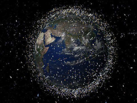 Space is littered with debris. ClearSpace is ready to clear 21,000 pieces of it