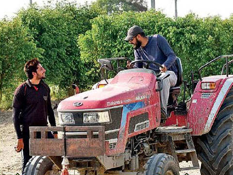 Meet the kisans with engineering degrees
