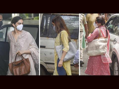 Drug probe: NCB confiscates Deepika, Sara & Shraddha's phones, will send them for forensic investigation