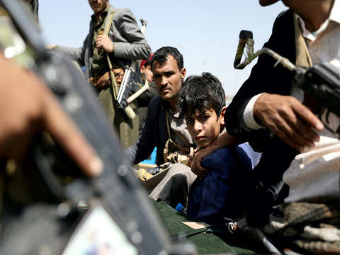 Saudi-led forces say thwart two attacks by Yemen's Houthis