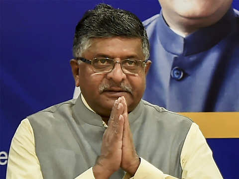 Ravi Shankar Prasad exhorts electronics, mobile companies to step up manufacturing, export from India