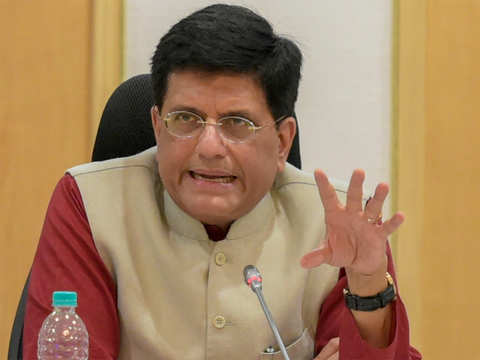 Slowdown a structural adjustment, not unduly perturbed by it: Piyush Goyal