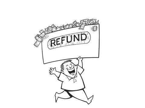 How to pre-validate bank a/c to claim tax refund