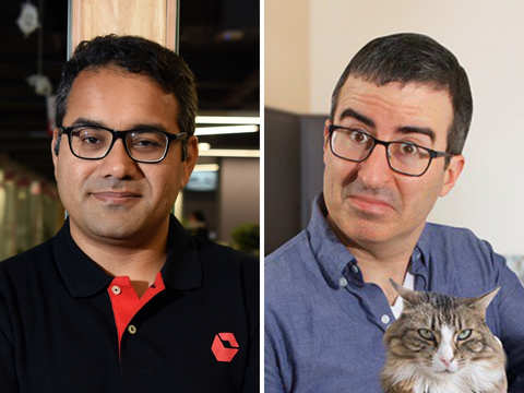 Kunal Bahl ecstatic over unexpected cameo on John Oliver's show; Debjani Ghosh finds it 'cool'