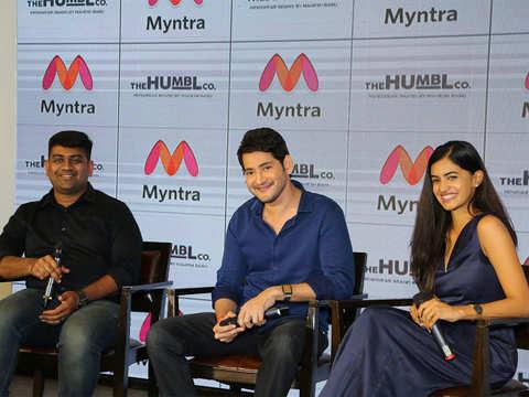 Actor Mahesh Babu launches his apparel brand on Myntra
