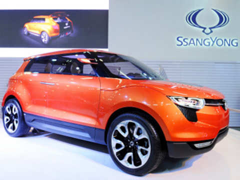 SsangYong launches compact SUV Tivoli; first all new vehicle after M&M takeover