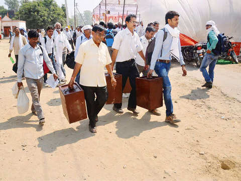 Polling for panchayat elections on in UP