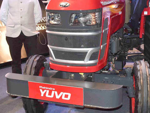 mahindra tractor: M&M's tractor business looking good, but