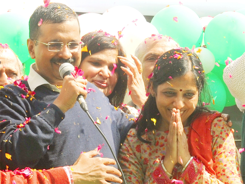 Arvind Kejriwal's I-T officer wife Sunita takes VRS