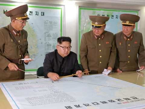 North Korea says actions may include Pacific hydrogen bomb test