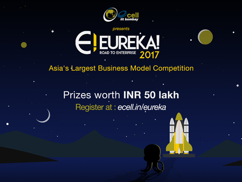 Eureka! -E-Cell IIT Bombay's business model competition hunts for the next big startup