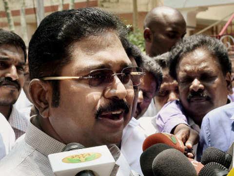 Raids on over 180 premises: TTV Dhinakaran cries 'conspiracy'