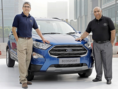 Ford expects better sales of upgraded EcoSport