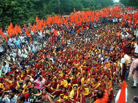Bharatiya Mazdoor Sangh calls for observing 'black day' on February 20