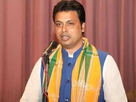 Biplab Kumar Deb--RSS member to Tripura CM