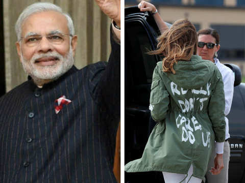 Style statement: How Narendra Modi, Melania Trump have managed to make headlines with their fashion choices