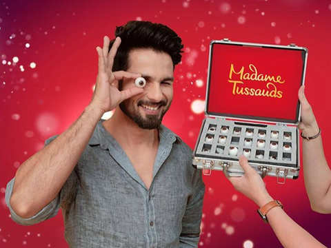 Shahid Kapoor to soon join league of superstars with wax statue at Madame Tussauds