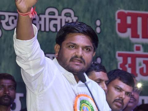 Hardik Patel sentenced to 2 years jail in 2015 riot case, gets bail