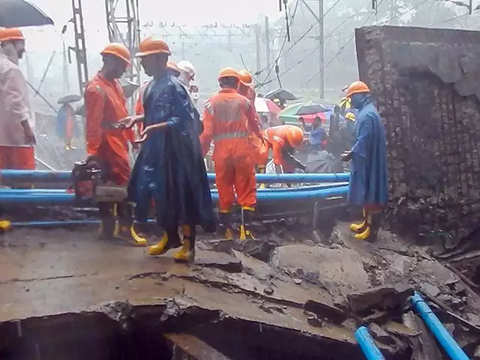 Railways suffered loss of around Rs 90 lakh in Mumbai bridge collapse: MoS Rajen Gohain