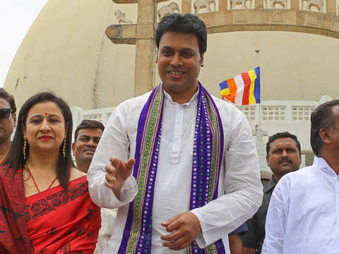 Will take forward Tripura's last king's legacy: Tripura CM
