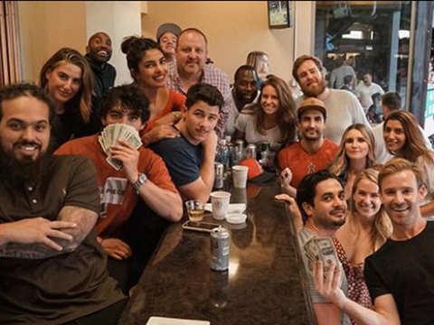 Priyanka Chopra rings in beau Nick Jonas's birthday at baseball game in California