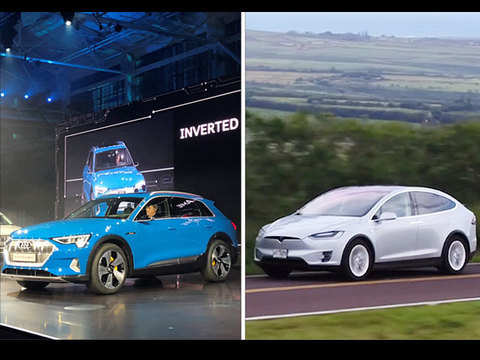 Audi, Amazon join hands to take on Tesla's Model X with new SUV e-tron