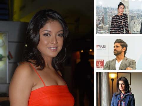 #MeToo hits Bollywood: Priyanka Chopra, Twinkle Khanna, Farhan Akhtar tweet in support of Tanushree Dutta