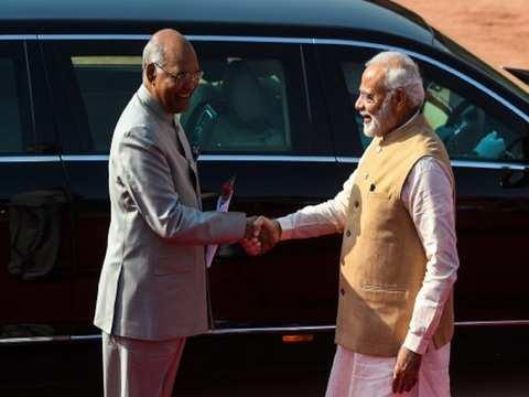 PM Narendra Modi wishes President Ram Nath Kovind on his 73rd birthday