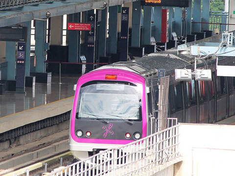 CM Kumaraswamy flags off second six coach metro train in Bengaluru