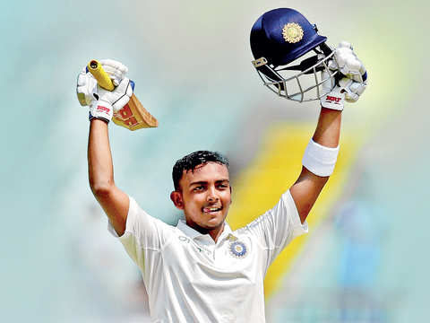 How young Prithvi Shaw brought home the essential joy of sport