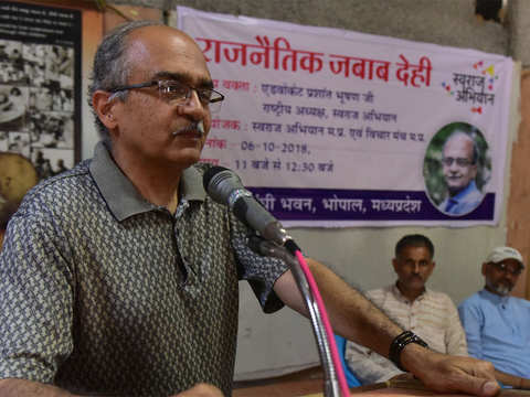 Rafale deal 'largest defence scam' in India's history: Prashant Bhushan