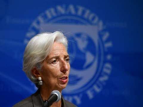 Lagarde sees more market volatility ahead amid trade risks