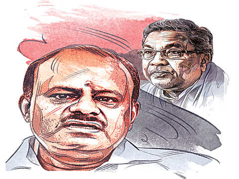 Kumaraswamy and Siddaramaiah to campaign together