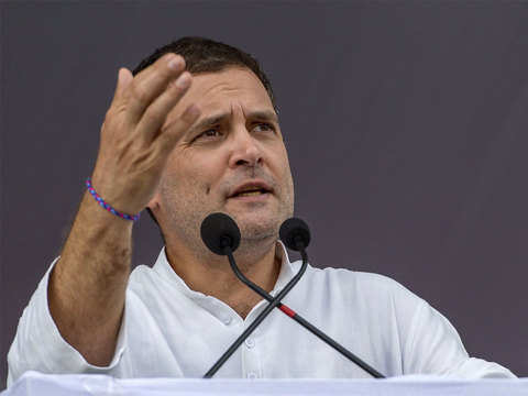 Save daughters from BJP minister: Rahul Gandhi