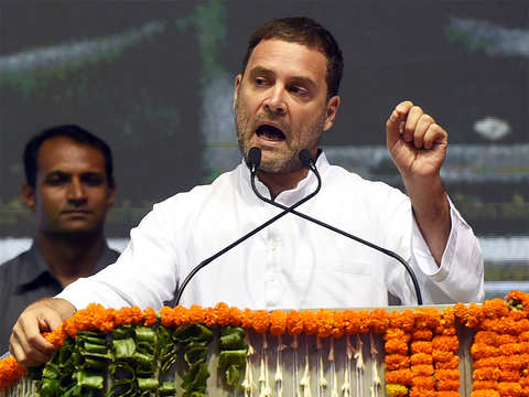 MP government busy marketing itself as kids die of malnutrition: Rahul Gandhi